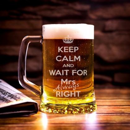 Kufel grawerowany Keep Calm