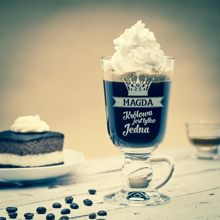 Królowa jest tylko jedna - personalizowana szklanka