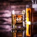 Old no. - szklanka grawerowana na urodziny
