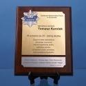 Dyplom dla policjanta