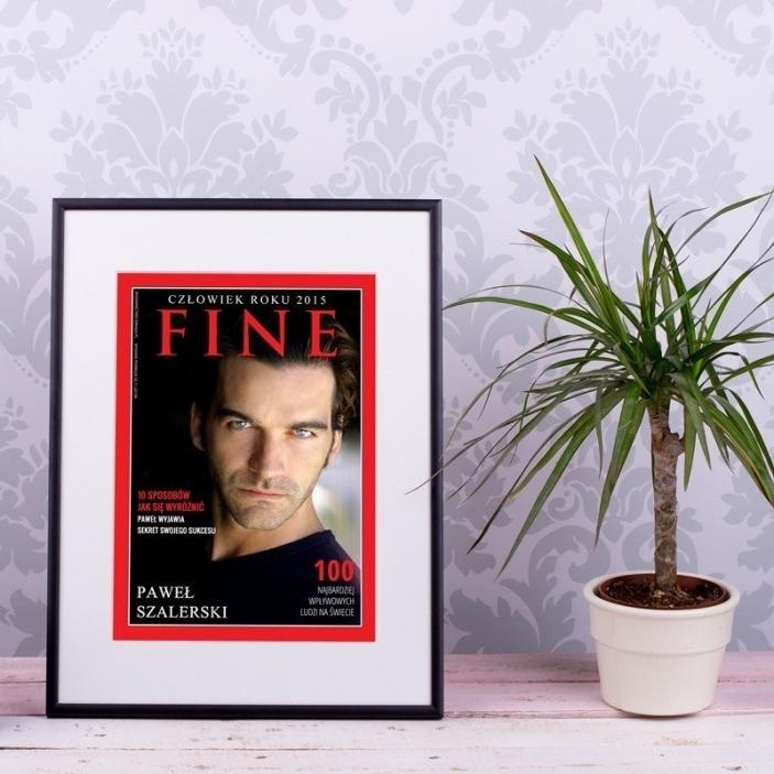 FINE - zdjęcie na okładce magazynu